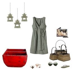 """Market Street"" by southernreef ❤ liked on Polyvore featuring Home Decorators Collection, Patagonia, Havaianas, Dezso by Sara Beltrán, Samira 13 and Bijoux Coquette"