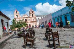 Plaza de la Iglesia de Nuestra Señora del Carmen en Camagüey #Cuba #CubaTravel... http://ift.tt/1BaiRXO #C…