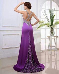 Purple prom dresses prom hot purple dresses be gorgeous lady High Low Prom Dresses, Prom Dresses For Teens, Best Prom Dresses, Prom Dresses With Sleeves, Wedding Dresses, Prom Dress 2013, Dresses 2013, Purple Outfits, Purple Dress