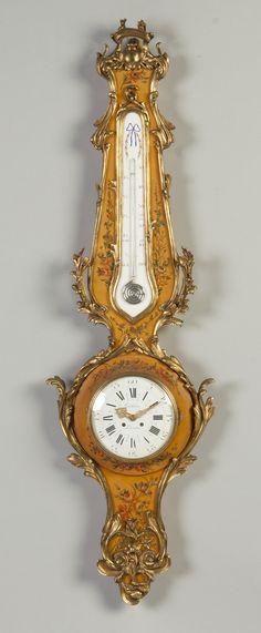 Gubelin Lucerne French Clock Barometer   Cottone Auctions