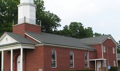 Stone coated steel classic tile roof on a church in North Carolina. Metal roofing by www.lakeroofingsystems.com