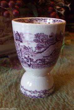 .purple transfer ware . Love