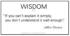 Wisdom quote Albert Einstein