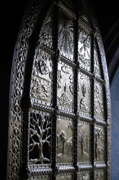 Bok Repousse Door by Kate Holgate - Alliance for Success Speaker Mgmt, via Flickr
