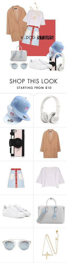 """""""K pop"""" by yeknonom ❤ liked on Polyvore featuring Baimomo, Beats by Dr. Dre, Kate Spade, MANGO, Fendi, Helmut Lang, adidas, MCM, Christian Dior and kpop"""