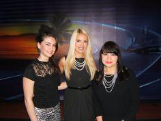 """""""Good Morning Jacksonville"""" with Amanda Z. and model Kelli."""