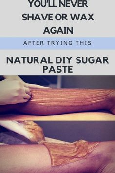 YOU'LL NEVER SHAVE OR WAX AGAIN AFTER TRYING THIS NATURAL DIY SUGAR PASTE. WORKS LIKE A CHARM – Toned Chick