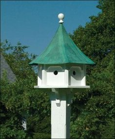 Lazy Hill Carousel Bird House - traditional - birdhouses - other metro - Walpole Outdoors