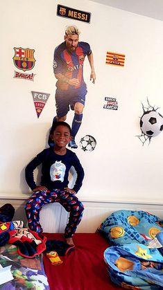 Messi Fathead : messi, fathead, Soccer, Bedroom, Ideas, Bedroom,, Girls