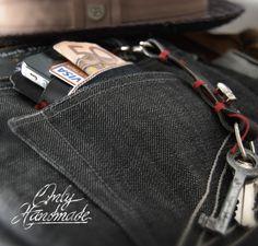 Wallet & Keychain BrambySupplyCo. Only Handmade - Barcelona