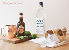 DIY: How to make a Moscow Mule