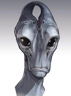 Mass Effect: Salarian Concept