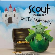 scout the dragon ♥ #scentsy Available Sept 12014 Www.oper8n4u.scentsy.us