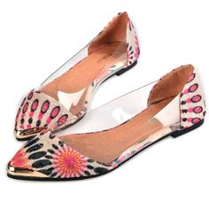New Fashion Women Casual Animal Print Transparent Patchwork Pointed Toe Flats Shoes http://www.wholesalebuying.com/product/new-fashion-women-casual-animal-print-transparent-patchwork-pointed-toe-flats-shoes-174822?utm_source=pin&utm_medium=cpc&utm_campaign=ZYWB16 let the shoe walk