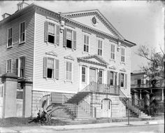 64 South Battery, Gibbes House, ca. 1772, William Gibbes House, Roebling Garden -- Charleston (S.C.) in 1880