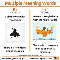English Idioms, English Vocabulary Words, Learn English Words, English Grammar, Vocabulary Practice, Vocabulary Cards, Multiple Meaning Words Worksheet, Verbs For Kids, Commonly Confused Words