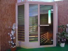 Sauna panoramica by Emoplast  http://www.emoplastsaune.com/saune-finlandesi/saune-su-misura/