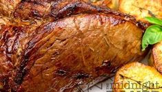Air fryer roasts cook about faster than a conventional oven. Try this next time you make roast beef and always be sure to use a tender cut. Beef Potato Casserole, Casserole Recipes, Potato Sides, Potato Side Dishes, Beef And Potatoes, Crispy Potatoes, Beef Pot Pies, Air Fryer Recipes Easy, Chicken Wing Recipes