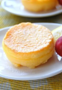 The Recipe Society: Baked Lemon Pudding - looks like this can be easily adapted to gluten free -- maybe even paleo. Lemon Desserts, Lemon Recipes, Just Desserts, Sweet Recipes, Baking Recipes, Delicious Desserts, Dessert Recipes, Yummy Food, Sweet Desserts