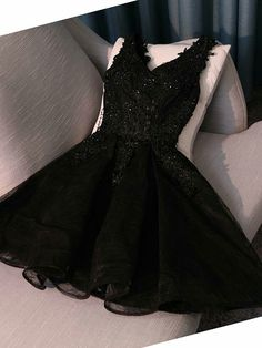 Lace Prom Dresses Homecoming Dress A-Line Black Prom Dresses Lace Black Homecoming Dress Prom Dresses For Cheap Homecoming Dresses 2018 Junior Homecoming Dresses, Cute Prom Dresses, Tulle Prom Dress, Prom Gowns, Dance Dresses, Cheap Dresses, Party Dresses, Black Hoco Dresses, Dresses Dresses
