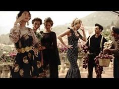 Dolce&Gabbana SS14 Women's Ad Campaign Backstage - YouTube
