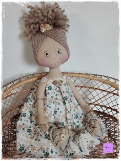 Stitch Doll, Doll Hair, Diy Doll, Crochet Dolls, Diy Hairstyles, Hand Stitching, Lana, Diy And Crafts, Ideias Fashion