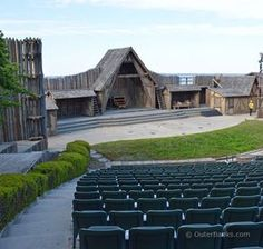 One of the most popular and longest running nighttime attractions on the Outer Banks is the Lost Colony outdoor drama, staged within the Fort Raleigh National Historic Site at the Waterside Theater.