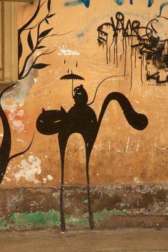 Lima Peru - street art in Miraflores by Mckay Savage