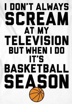 I don't always scream at my tv, but when I do it ARIZONA WILDCATS basketball season!
