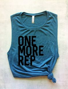 one more rep workout tank for women weightlifting tank top womens muscle tank graphic tee crossfit tank - Funny Tank Tops - Ideas of Funny Tank Tops - one more rep workout tank for women weightlifting tank top womens muscle tank graphic tee cross Crossfit Tanks, Workout Tank Tops, Funny Workout Shirts, Workout Tops For Women, Womens Muscle Tank, Workout Wear, Workout Outfits, Workout Fitness, Fitness Diet