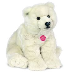 Peluche Oso Polar Sentado Hermann Teddy
