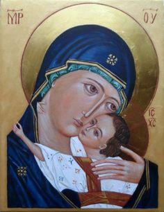 Matka Boża z Dzieciątkiem.