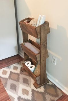Over The Toilet Leaning Ladder Shelf Made To Order Decor Bathroom E Saver Storage Remodel