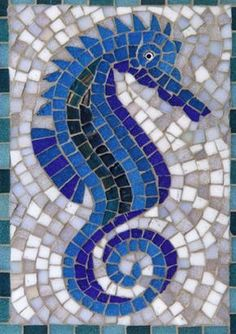 Seahorse - card mosaic gallery form produced email order