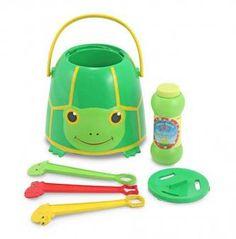 Turtle Bubble Bucket | whatgiftshouldiget.com