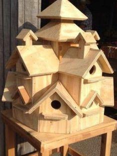 Bird House Kits Make Great Bird Houses Wooden Bird Houses, Bird Houses Diy, Bird House Plans, Bird House Kits, Wood Projects, Woodworking Projects, Projects To Try, Bird House Feeder, Bird Feeders