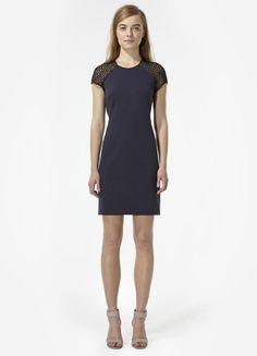 Rebecca Taylor Ponte Lace Dress