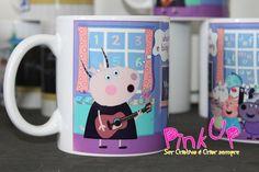 Caneca Peppa Pig na Escola