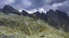 The view of Priecne Sedlo from Strelecka veza