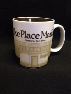 Starbucks Global Icon Mug - Pike Place Market