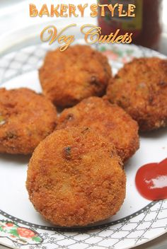 YUMMY TUMMY: Bakery Style Vegetable Cutlets Recipe - Veg Cutlets Recipe Veg Cutlet Recipes, Cutlets Recipes, Vegetable Recipes, Vegetarian Recipes, Cooking Recipes, Curry Recipes, Indian Appetizers, Indian Snacks, Indian Food Recipes