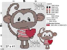 Macaco coração