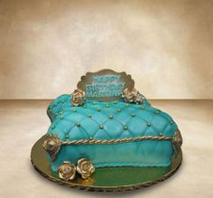 Royal Pillow Cake - Cake by MsTreatz Pillow Cakes, Pillows, Prince And Princess, Themed Cakes, Wedding Cakes, Desserts, Dreams, Food, Pies