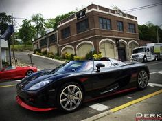 Koenigsegg CCX roadster