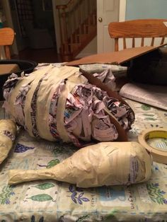 Theater Props Made with Paper Mache Clay – Ultimate Paper Mache Theatre Props, Stage Props, Theatre Stage, Prop Design, Stage Design, Set Design, Theatre Design, Christmas Turkey, Christmas Carol