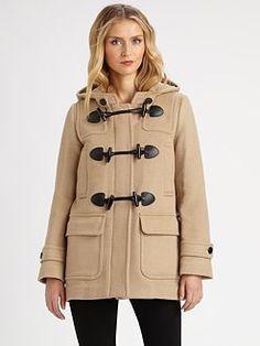 Burberry Brit - Wool Duffel Jacket