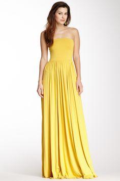 Kai Strapless Maxi Dress on HauteLook