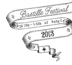 bastille day logo