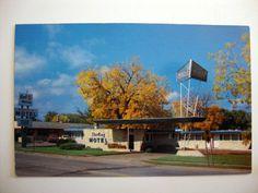 Sterling Motel of Winona, Minnesota Postcard
