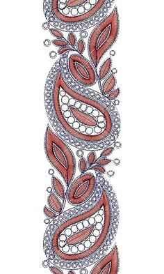 10203 Lace Embroidery Design